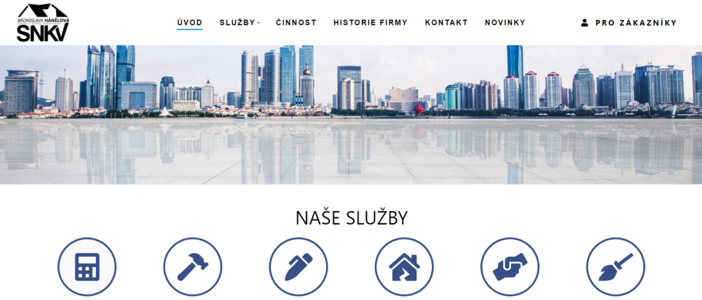 Nový web SNKV